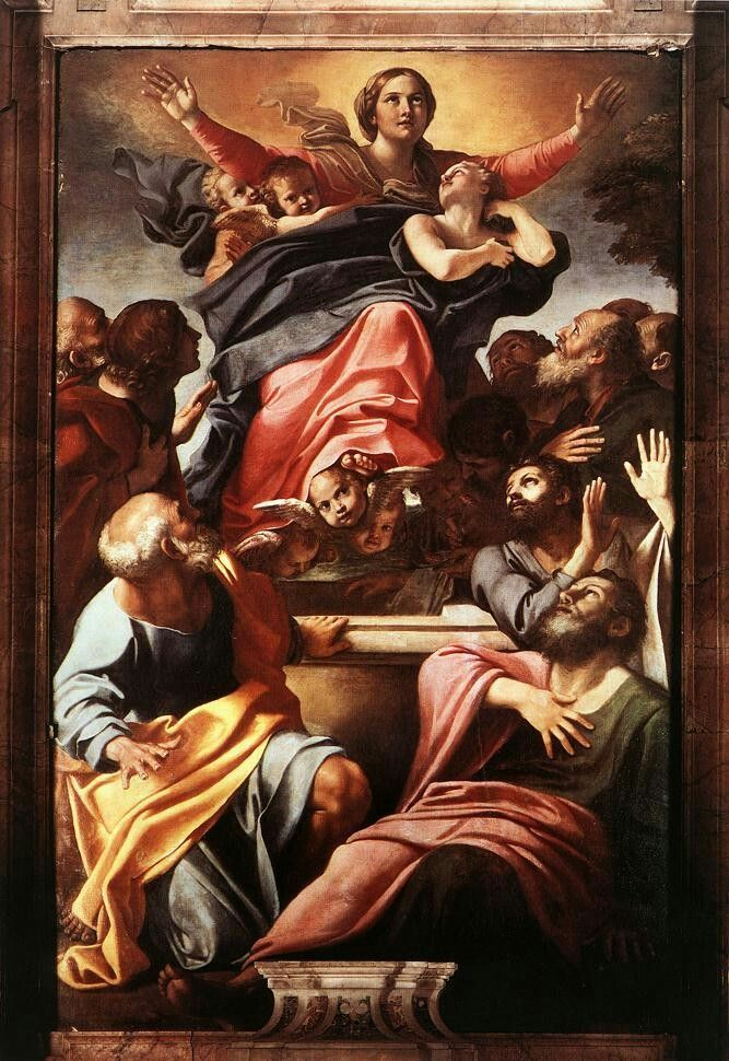 Annibale Carracci Assumption Of The Virgin Mary
