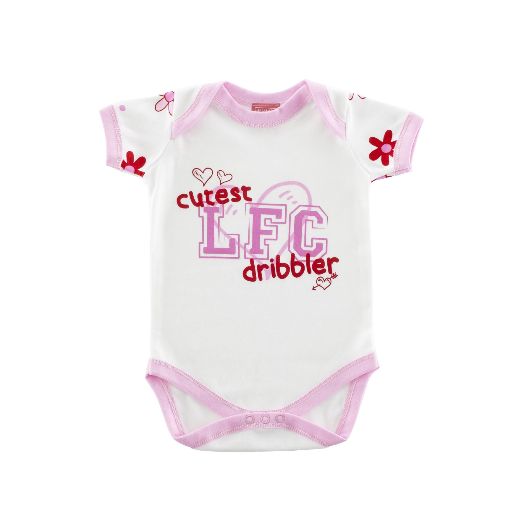 Picture of the LFC Baby Girls Floral Bodysuit product LFC ficial