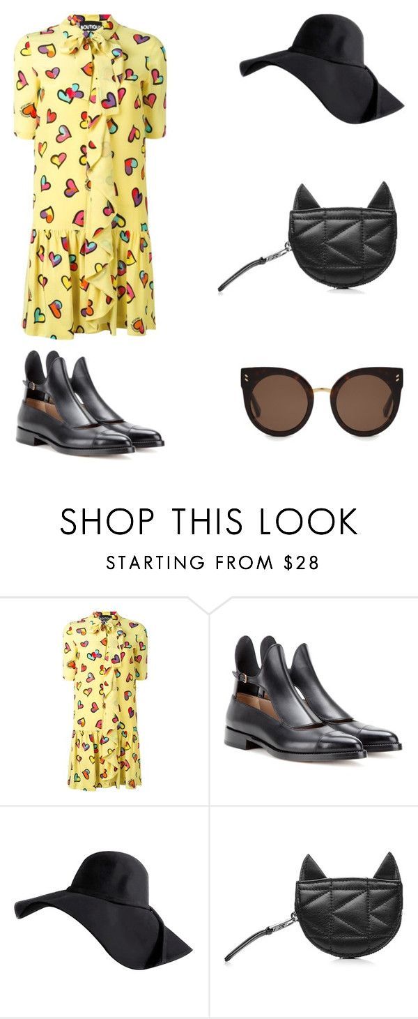 """Sem título"" by jessblock on Polyvore featuring moda, Boutique Moschino, Francesco Russo, Karl Lagerfeld e STELLA McCARTNEY"