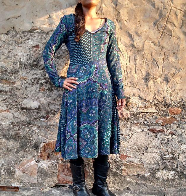 Stretchkleider - Sweat Baumwolle Kleid Dress Stretchy - ein Designerstück von Coisas4U bei DaWanda