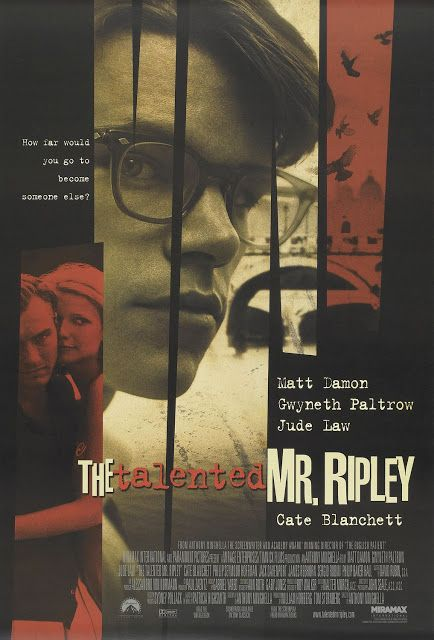 My Lawyer Will Call Your Lawyer: The Talented Mr Ripley (1999) Directed by Anthony ...