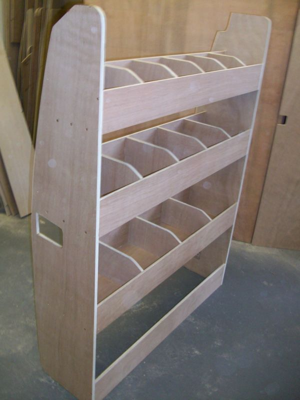 Details About Ford Transit Custom Van Racking Ply Shelving