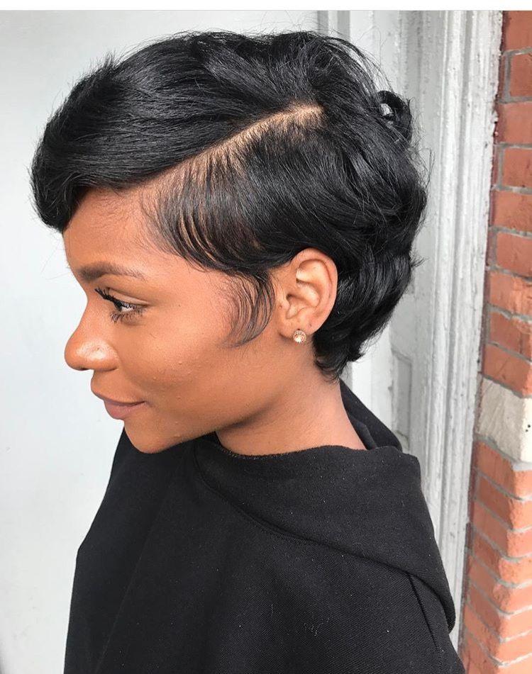 Short Hairstyle Black Hair