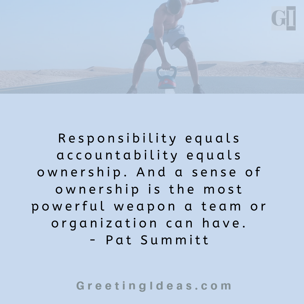 Famous Accountability Quotes For Self Responsibility Workplace Leadership Accountability Quotes Motivational Picture Quotes Responsibility Quotes