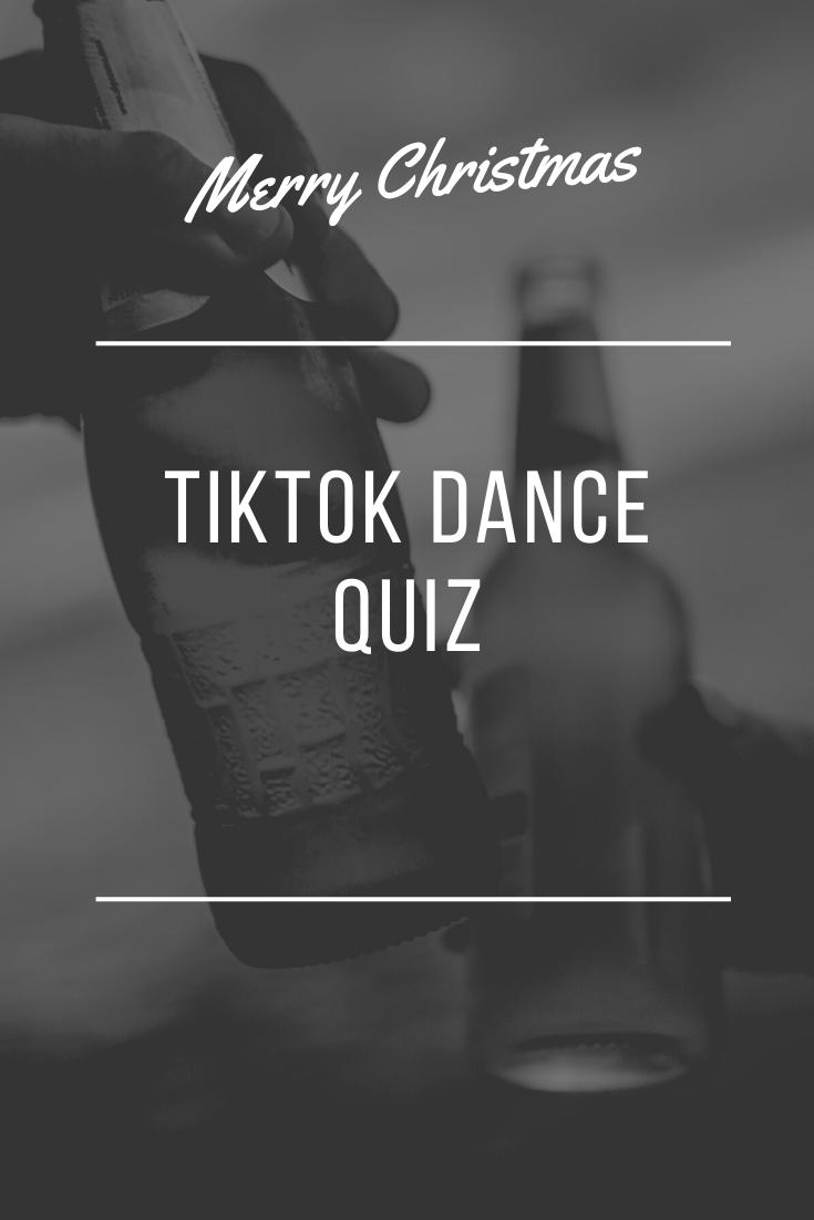 Tiktok Dance Quiz Dance Quiz Quiz Dance