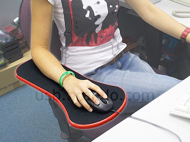 Elegant Armrest Mouse Pad $36 The Armrest Mouse Pad Can Be Attached On Your Desk Or  Chair