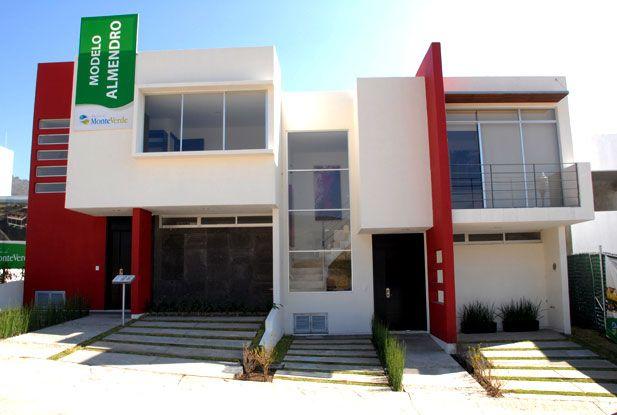Fachadas de casas modernas peque as fachas de casa de for Fachadas de casas de 2 pisos pequenas