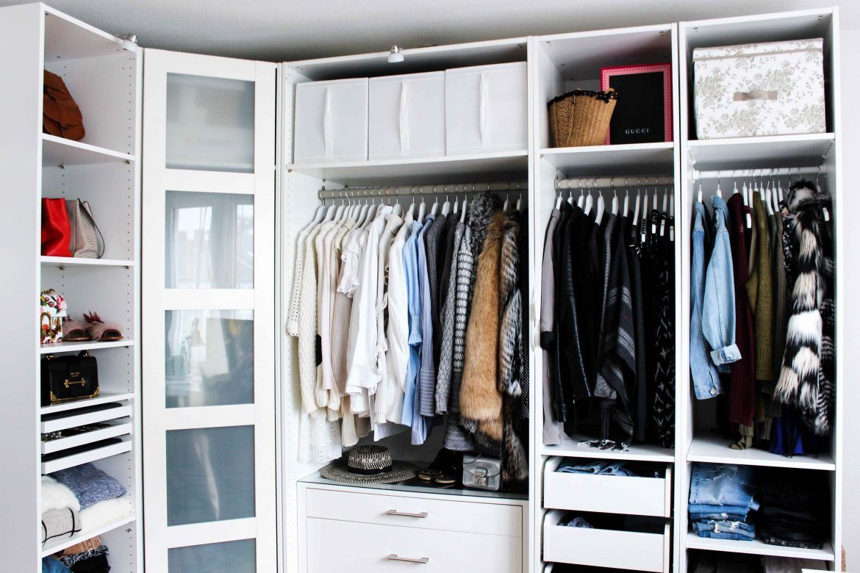 Mein Ankleidezimmer Tipps Fur Den Pax Kleiderschrank Ikea