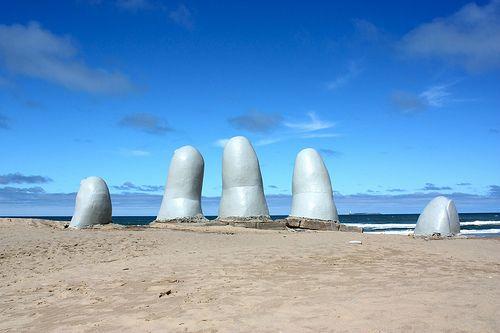 Punta del Este, uno de los centros turísticos más importantes del Uruguay