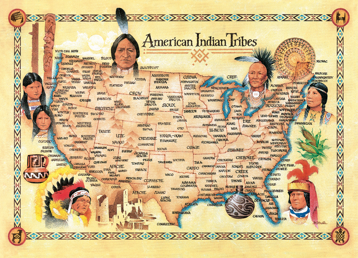 American Indian Tribes | PuzzleWarehouse.com