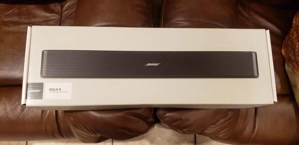 Bose Solo 5 Tv Sound System Bluetooth Includes Remote