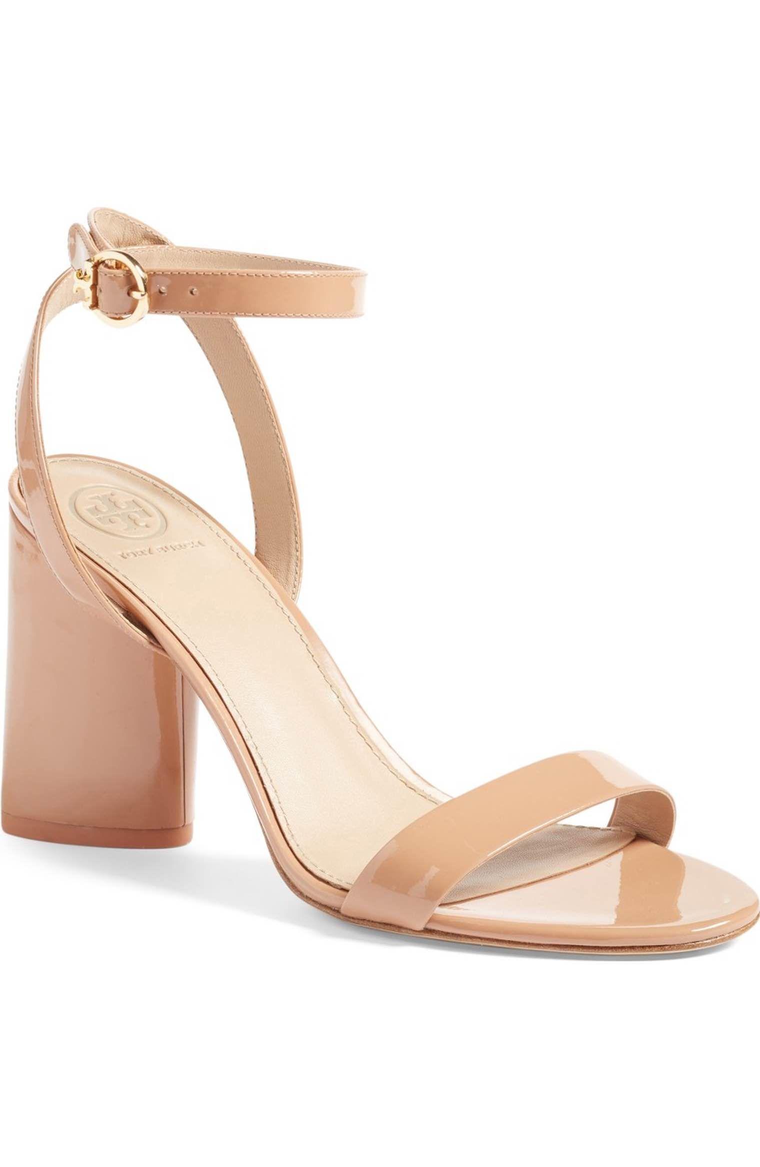 a51cdc7da7fd8 Tory Burch Elizabeth Block Heel Sandal