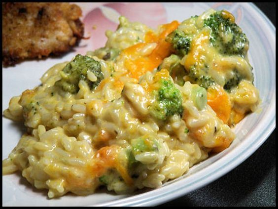 recipe: chicken broccoli cheese rice casserole velveeta [7]