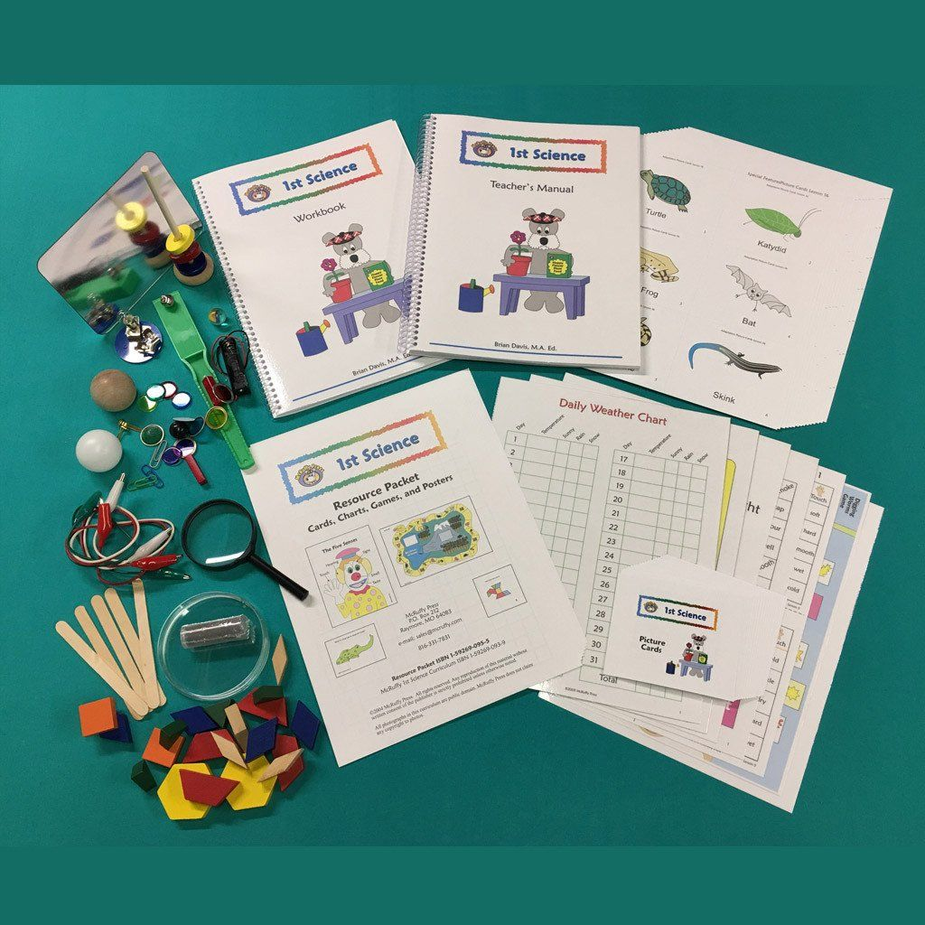 First Grade Science Curriculum with Lab Kit First grade