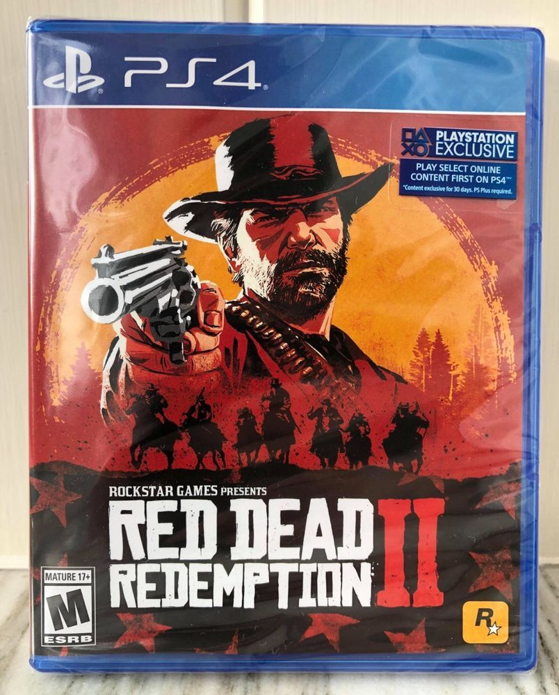 Red Dead Redemption 2 Ps4 Physical Copy New In Shrink Wrap Free Shipping Reddeadredemption Gaming Red Dead Redemption Xbox One Red Dead Redemption Ii