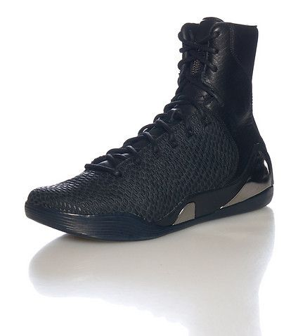 buy online 1b618 48041 NIKE Kobe Bryant High top men s sneaker Leather body Spikes and scales  print Padded tongue with logo Cushioned inner sole for comfort Rubber  outsole