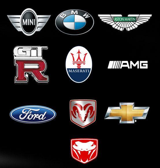 Assorted Car Logo T Shirt Adult S M L XL XXL by ...