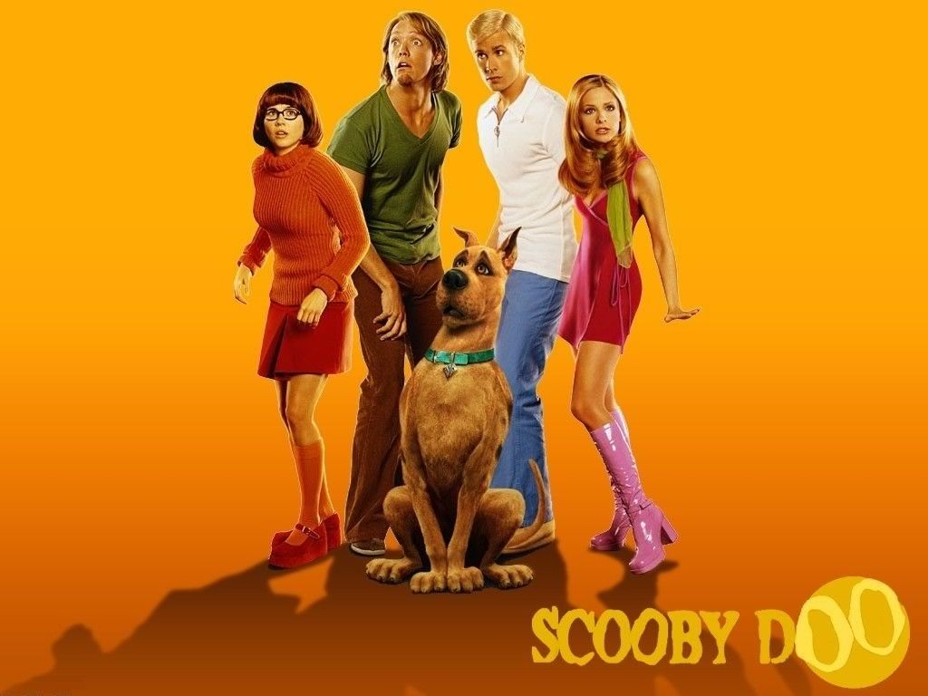scooby doo wallpaper i think it was the first la movie they did