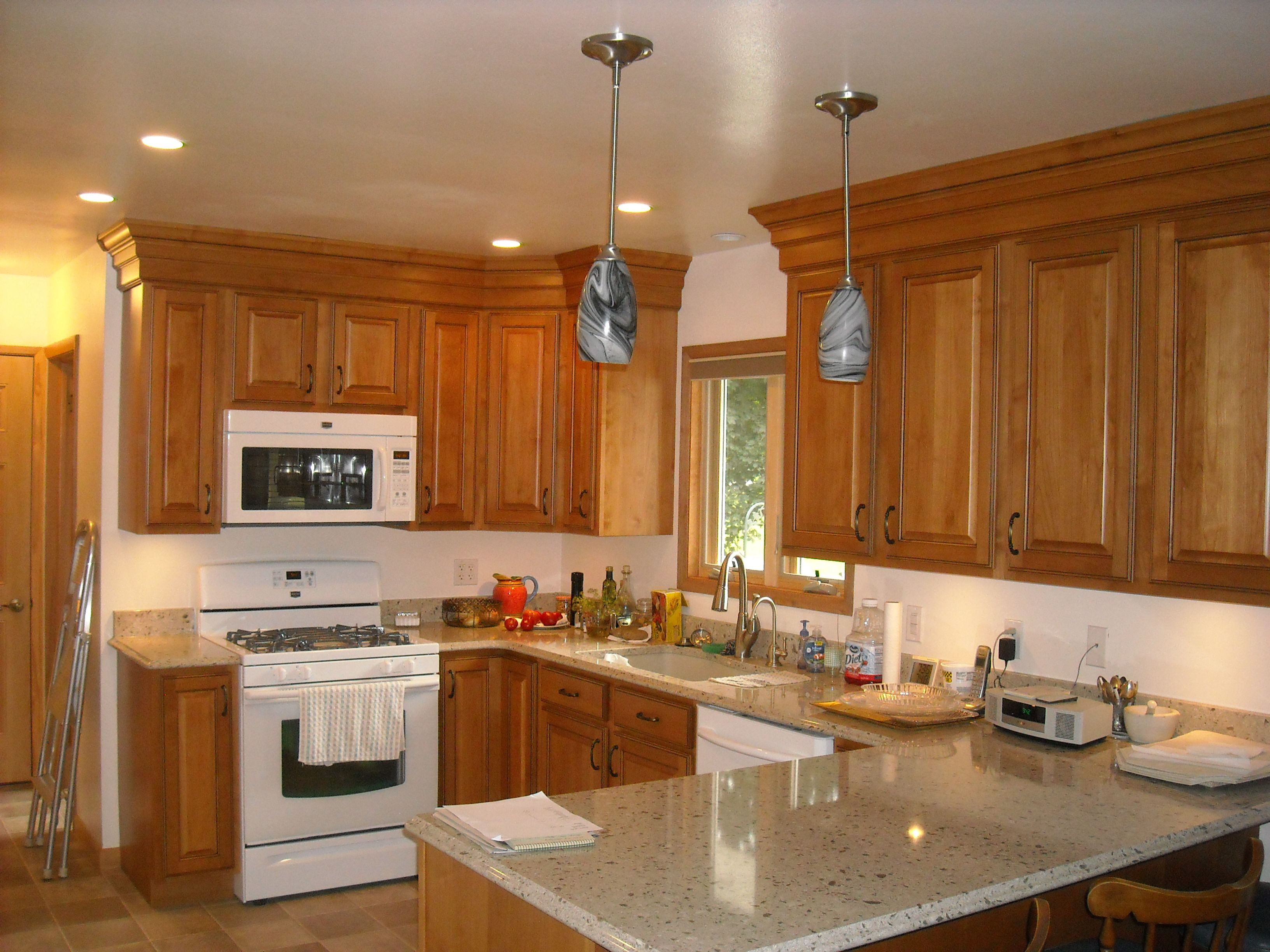 Kitchen Design: Adding Moldings to Upper Cabinets ...