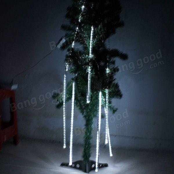 Christmas Lights LED Waterproof Snowfall Meteor Light 50CM 8Tube