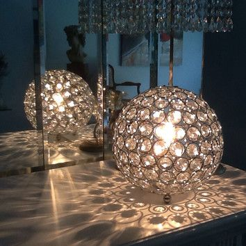 Lamour 8 H Table Lamp With Sphere Shade By House Of Hampton