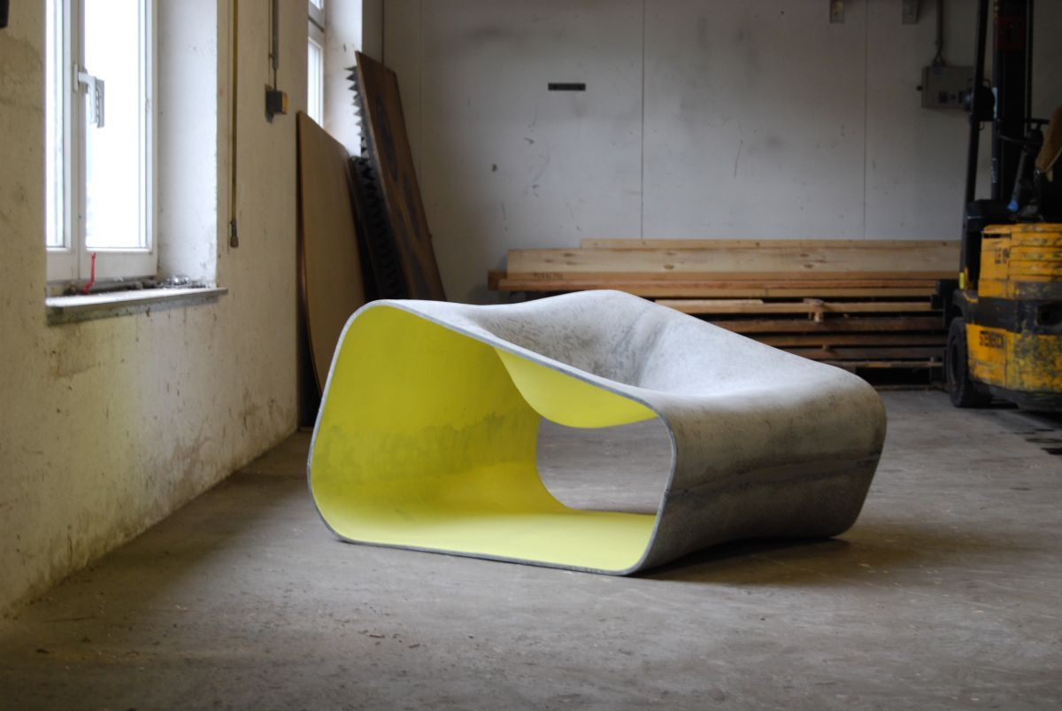 Dune Is Modular Outdoor Furniture Collection Designed By Rainer Mutsch For  Austrian Company Eternit. Made From Natural Fiber Cement, Dune Comes In  Variety