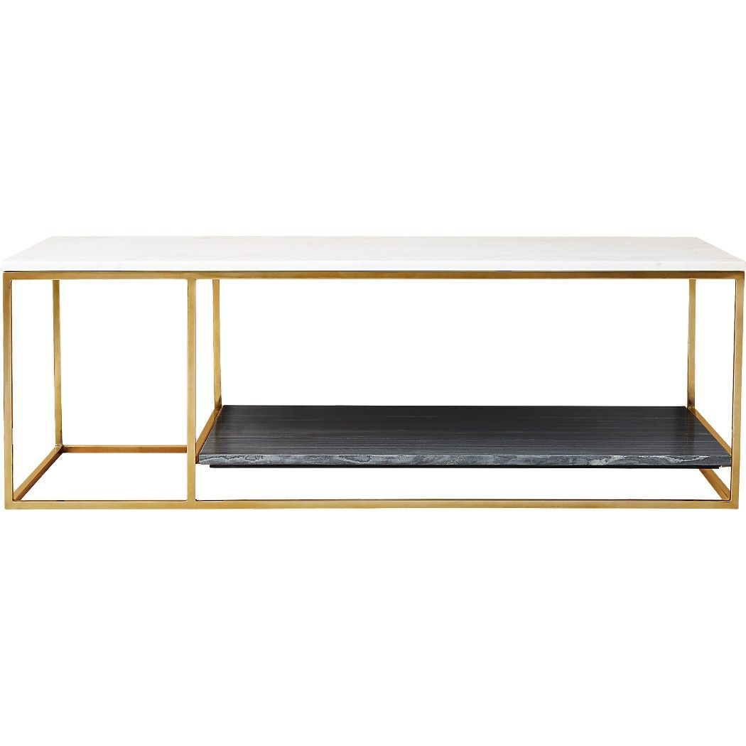 2 Tone Grey And White Marble Coffee Table Reviews Cb2 Marble Coffee Table Coffee Table White Marble [ 1050 x 1050 Pixel ]