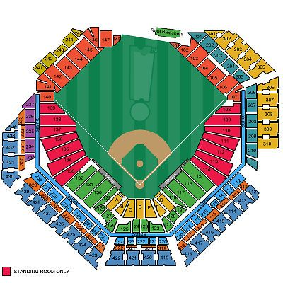 Pin On Sports Seating Chart