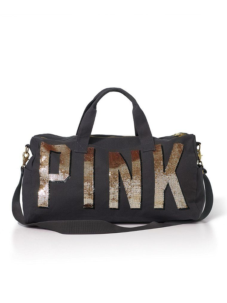 c4b2a17db608 Bling Duffle Bag - Victoria s Secret PINK - Victoria s Secret ...