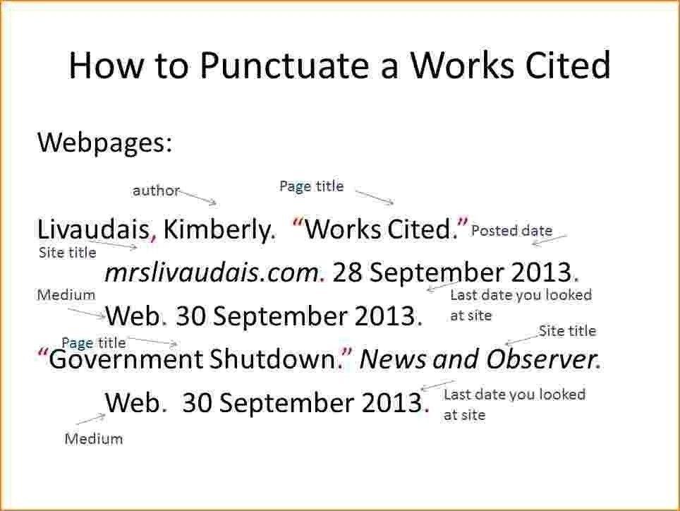 Pin By Alexis Adkins On School Citation Format Works Cited Mla Citation