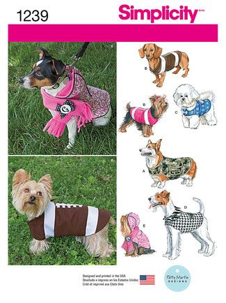 7792 env front | ayla doggy | Pinterest | Hundekleidung ...