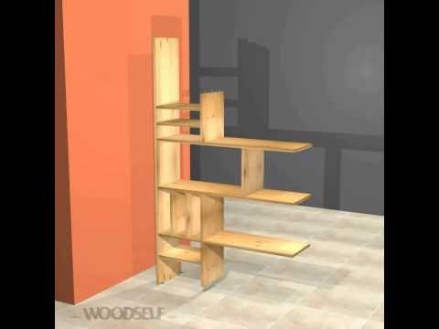 Etagère de séparation - Woodself - Le site des plans de meubles ...