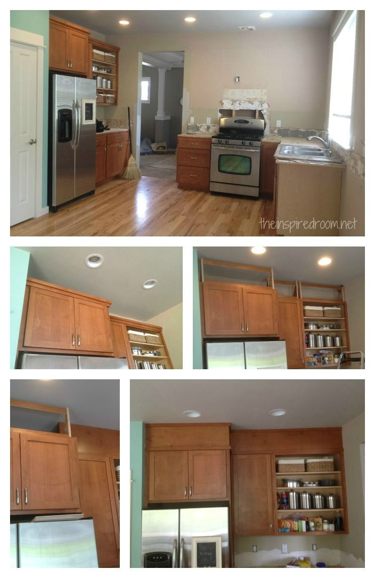 How To Cover Kitchen Cabinets How To Cover Up That Awkward Space Above Cabinets Kitchens