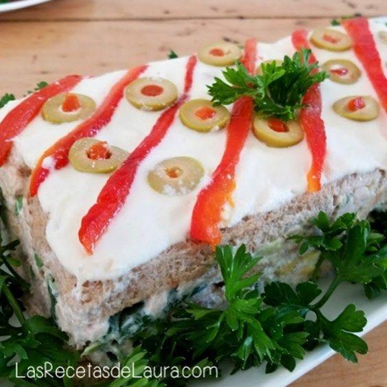 Ideas para cocinar hoy! PASTEL DE ATUN Sin Horno queda delicioso y ...