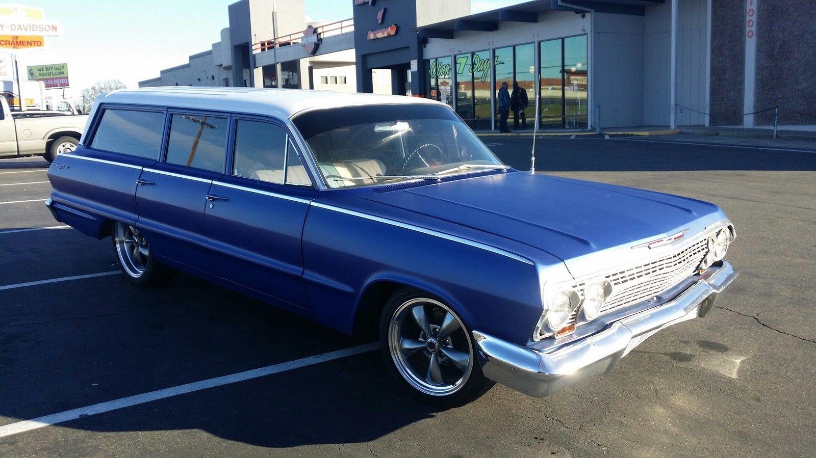 Best 63 Chevrolet Biscayne Wagon Chevrolet 400 x 300