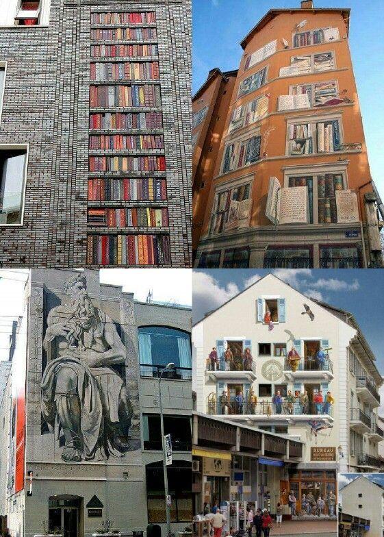 Arte urbano increible.