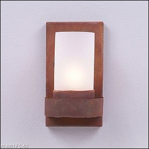 Wisley Single Sconce - Rustic Plain - Rustic Plain Sconces - Wall Lights - Avalanche Ranch Lighting - Avalanche Ranch Lighting