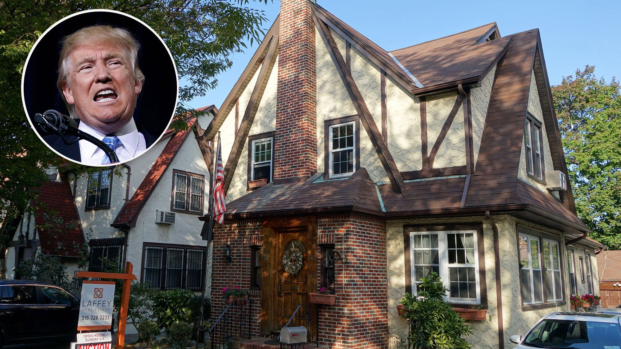 Donald Trump's Childhood Home Available for Rent