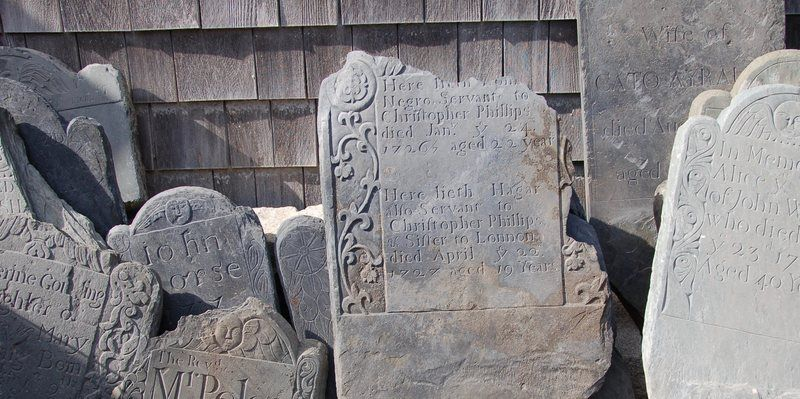 The beautiful and moving graves of new england