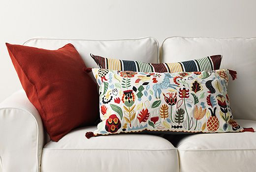 Ikea Cushions Cushion Covers Ove The One In The Front But Can T
