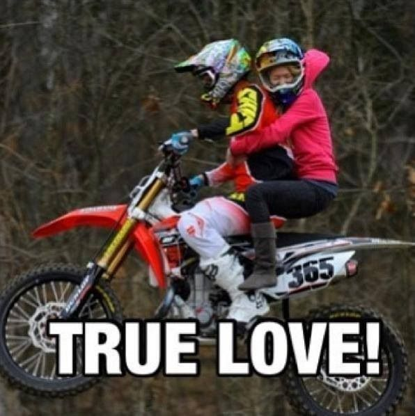 Hehe Yes Dirt Bike Couple Dirt Bike Quotes Bike Couple