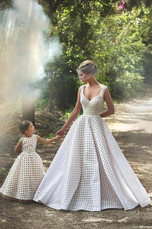 e582244c65 Matching Flower Girl Dresses To Bridal Dresses    http   www.deerpearlflowers.