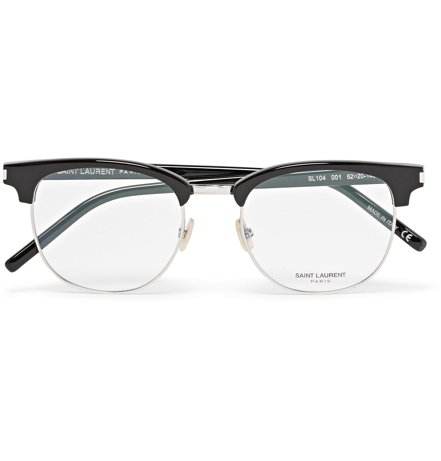 Raise Your Sights With These Glasses By Parisian Label A Href Http Www Mrporter Com Mens Designers Saint L With Images Designer Glasses For Men Glasses Optical Glasses