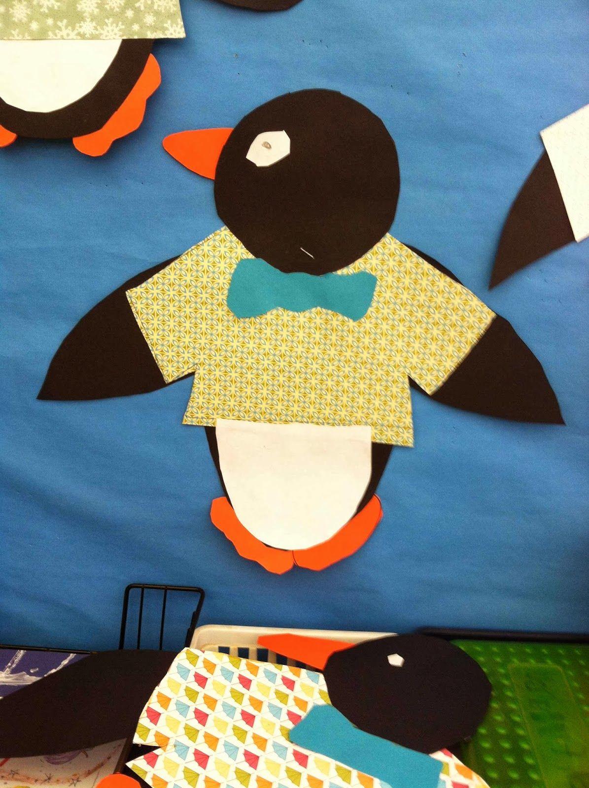 Penguin Tacky Craftivity