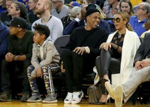 Beyoncé With Husband Jay Z