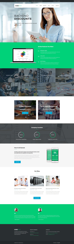 Codebolt Software Company Wordpress Theme Fashion Photos