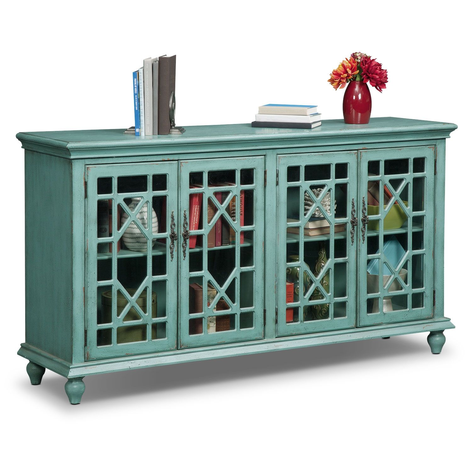 grenoble media credenza teal sam and jeff new house pinterest credenza furniture and room. Black Bedroom Furniture Sets. Home Design Ideas