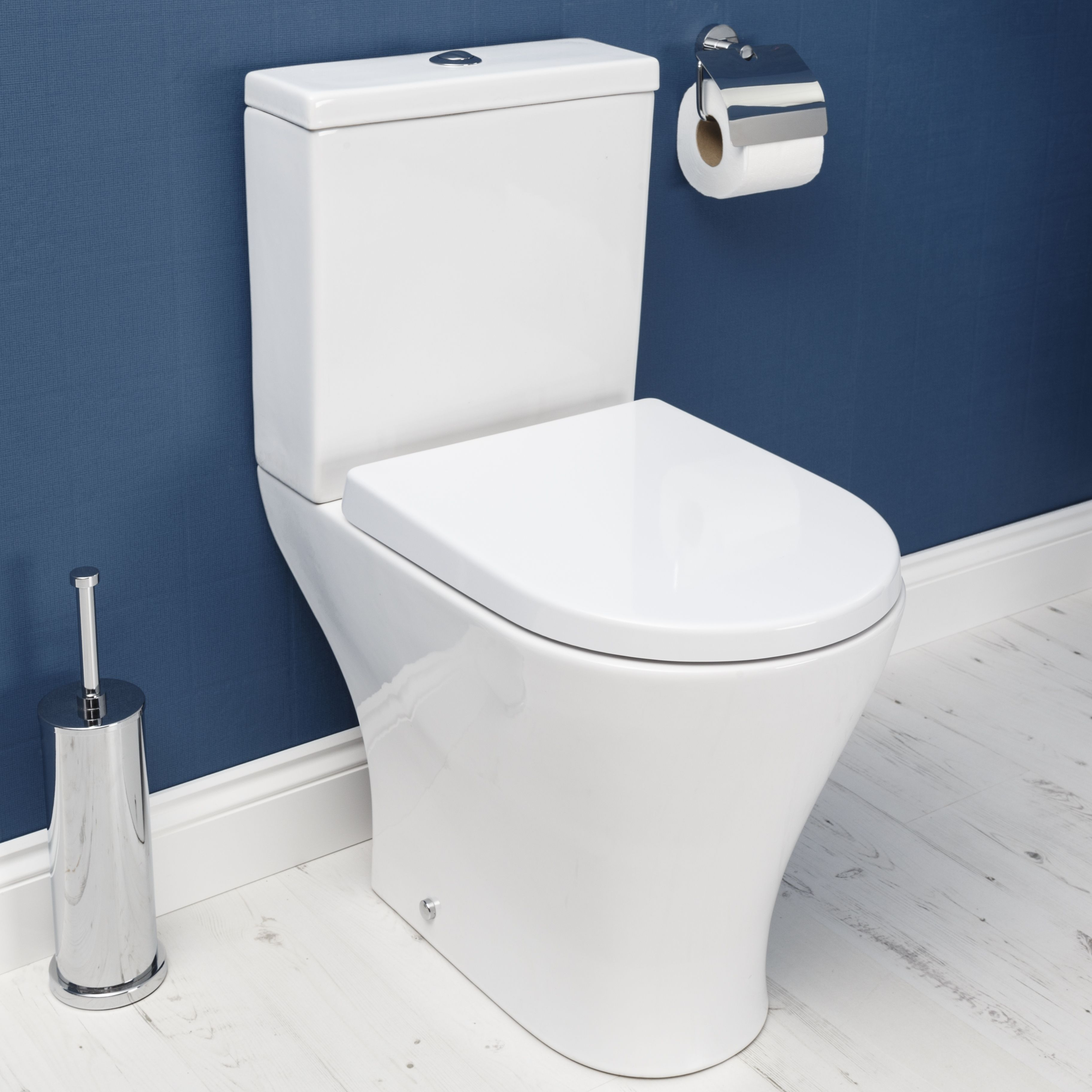 Ceramica Arles Space Saving Toilet & Soft Close Seat