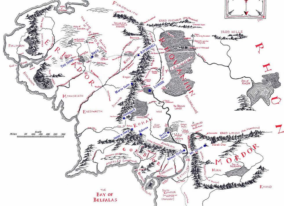 Lindon | Odds & Ends | Middle earth map, Middle earth, Tolkien
