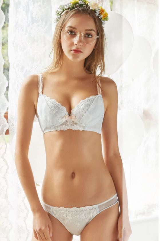 ccd287fdb5 Shirley kawaii Japanese style bra and panty set from Petite Cherry   lingerie  bra http